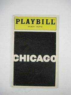 Chicago Playbill 1999 Shubert Theatre Sandy Duncan Marcia Lewis Brent Barrett