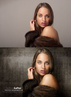 20 Awesome Before & After Photos - Retouched by Adobe Photoshop