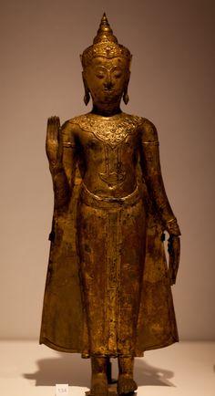 Standing Buddha Statue, Buddha Statues, Art Thai, Leiden, Fantastic Art, Asian Art, Buddhism, Thailand, Museum