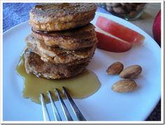 Grain Free Almond Apple Pancakes   Kitchen Stewardship   A Baby Steps Approach to Balanced Nutrition