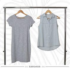 Keep it simple | Peças basiquinhas, leves e perfeitas para o Verão! #moda #look #outfit #vestido #colete #básico #basic #simple #jeans #shop #loja #novidade #new #lançamento #ecommerce #lnl #looknowlook
