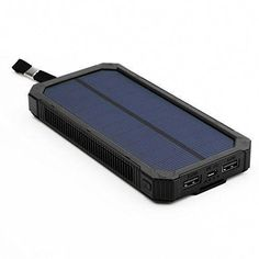 This Solar Powered External Charger For When You Re Off The Grid And Running Low On Battery 39 99 15 Awesome Best Solar Panels Solar Power Solar Projects