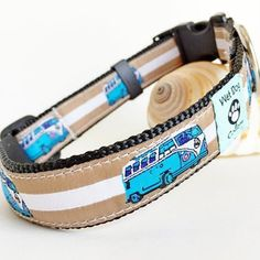 Bessie the Bus Dog Collar
