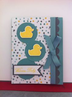 stampin up something for baby 2014 - Google Search