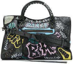 533a422cd38 Balenciaga Drops Graffiti-Laced Fanny Pack For  1