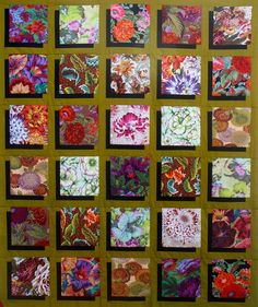 Shadow box quilt by Lee Shaffer