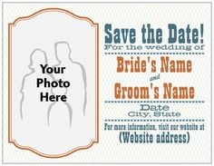 Vistaprint save the date