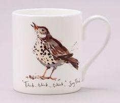 (MF19) Madeleine Floyd Song Thrush  Mug