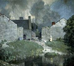 Newby Hall, Ripon, North Yorkshire I Sir Charles John Holmes (1868–1936)