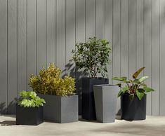 takestop/® Balcony Flower Pot Rectangular Plastic Box with Water Reservoir for Plants Flowers Home Garden