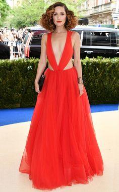 The Best Dresses at the 2017 Met Gala - Rose Byrne in Ralph Lauren
