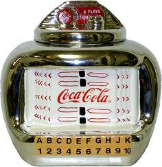 Coke Jukebox Cookie Jar