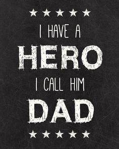 Happy Father's Day to all the Daddy's out there!!:)
