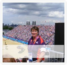 Jenny Strickland working at The London Olympics 2012 http://www.strickland-protocol.com/