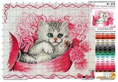 Cat Cross Stitch Chart