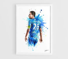 John Terry Chelsea FC A3 Art Prints of the Original by NazarArt, $25.00