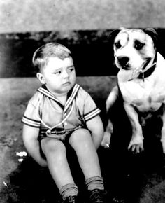 spanky and our gang dog petey - Google Search