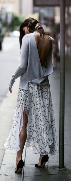 Cutout and slit.