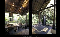 Outdoor Bath Area | Bali | GKA Perth Architects