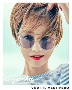 ショートヘアの先駆け☆韓国で大人気のコ・ジュニさんの髪型&メイクを真似しよう! - Hapicana [ハピカナ]