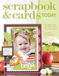 2011 - fall - past scrapbook and cards magazine