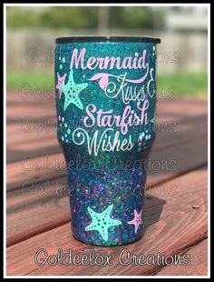 Mermaid Glitter Cup-Glitter Mermaid Tumbler-Glitter | Etsy