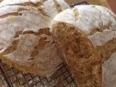 Pan de centeno integral y semolina (trigo duro)