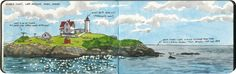 Island beacons - Drawn the Road Again