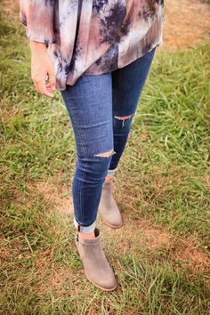 Sydney Slashed Jean