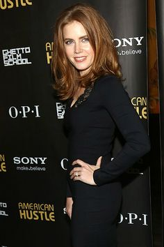 American Woman: Amy Adams attended an after party to celebrate her American Hustle screening in NYC on Friday.