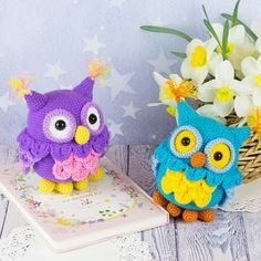 Crochet your own adorable owl with our easy-to-follow amigurumi pattern! You can make even dozens of these squishy bundles of cuteness! The look changes greatly with different yarn selections, so you will never get bored crocheting them. These amigurumi owls are very quick to make and so relaxing!