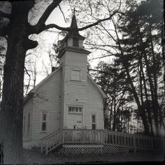 Country Church in Rockwell