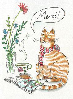 Merci Cats - www.lindsaygrime.co.uk