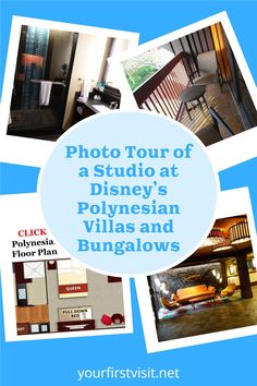 Disney Vacation Club (DVC): Photo Tour and Review of a Studio at Disney's Polynesian Villas and Bungalows from yourfirstvisit.net #DisneyWorldTips #DVC #DisneyVacationClub #DisneysPolynesianVillas