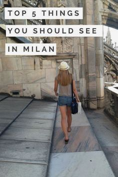 5 amazing things to see in Milan, Italy- such as Duomo Cathedral Cinque Terre, Oh The Places You'll Go, Places To Travel, Places To Visit, Travel Destinations, Verona, Milan Travel, Best Of Italy, Italy Travel Tips