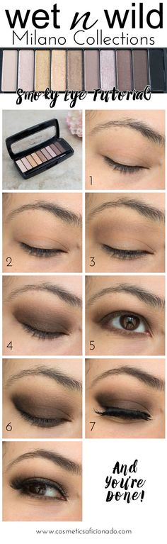 Click for details on this Wet n Wild Milano Collections Smoky Eye Tutorial