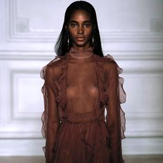 Tami Williams @ Valentino Spring 2017 Couture