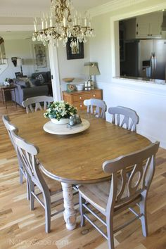 Farmhouse Style Table Makeover for $20