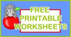 Kindergarten Worksheets - Free Kindergarten Printables - Math - Reading