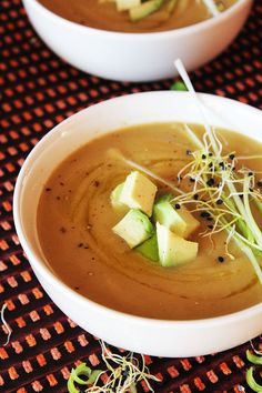 Spicy Sweet Potato and Leek Soup