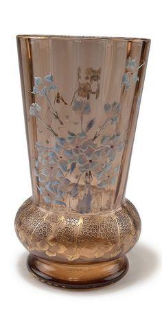 Vase 'Hortensias', 1890-94 - Gallé, Emile, Nancy