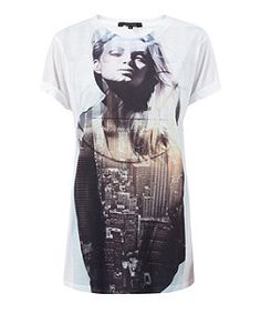 White Girl City T-Shirt  | New Look