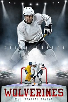 Our player banner photo template is designed with a print ratio. The player banner photo template is a multi-layered photoshop file. Perfect for hockey. Sports Banners, Vinyl Banners, Hockey Posters, Sports Templates, Sports Photos, Banner Template, Adobe Photoshop, Photo Ideas, Design Inspiration