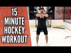 GAME SPEED Hockey Workouts | Plyometric Hockey Exercises | HASfit Dryland Hockey Training - YouTube Hockey Workouts, Agility Workouts, Hockey Drills, Hockey Players, Agility Training, Hockey Goalie Equipment, Hockey Gear, Flyers Hockey, Youth Hockey