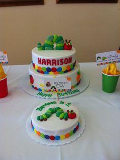 Harrison's first birthday cake!