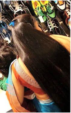 Long Silky Hair, Long Dark Hair, Super Long Hair, Indian Long Hair Braid, Braids For Long Hair, Loose Hairstyles, Indian Hairstyles, Beautiful Long Hair, Indian Beauty