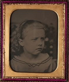 Portrait of Young Girl by Museum of Photographic Arts Collections, via Flickr