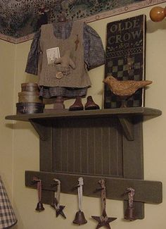 My fave shelf from FirecrackerKid on Etsy!