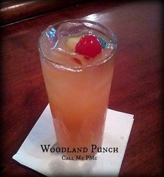 Woodland Punch cocktail - a delicious and simple cocktail recipe