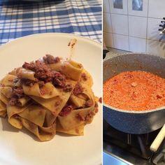 Pappardelle al Ragù! #pappardelle #ragu #ragù #pasta #cucinaitaliana #cucina #italiancuisine #italianfood #italian #italia #italy #italie #food #realitalian #realitalianfood #vicenza #sandrigo #veneto  #cucina #cucinandoarte #homemade #homemadefood #vicenzafood #casa #raguallabolognese #mangiare #mangiaresano #eat #eathealthy #mangermaison #manger Pasta, Instagram Posts, Italy, Noodles, Pasta Dishes